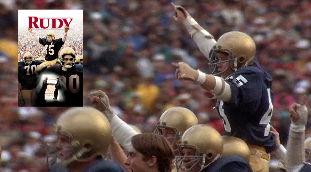 movie rudy essay Rudy reflection in the movie rudy, the main character, daniel eugene rudy ruettiger who is ambitious from childhood and his dream it.