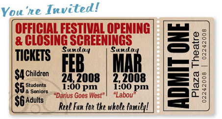 Public Screening Ticket